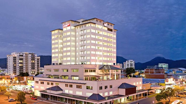 """Cairns Central Plaza Apartment Exterior. Images powered by <a href=""""http://web.iceportal.com"""" target=""""_blank"""" rel=""""noopener"""">Ice Portal</a>."""