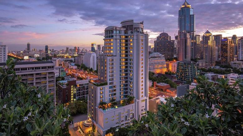 """DoubleTree by Hilton Bangkok Ploenchit Exterior. Images powered by <a href=""""http://web.iceportal.com"""" target=""""_blank"""" rel=""""noopener"""">Ice Portal</a>."""