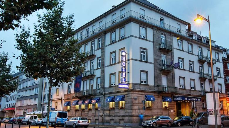 """Centro Hotel Augusta Exterior. Images powered by <a href=""""http://web.iceportal.com"""" target=""""_blank"""" rel=""""noopener"""">Ice Portal</a>."""