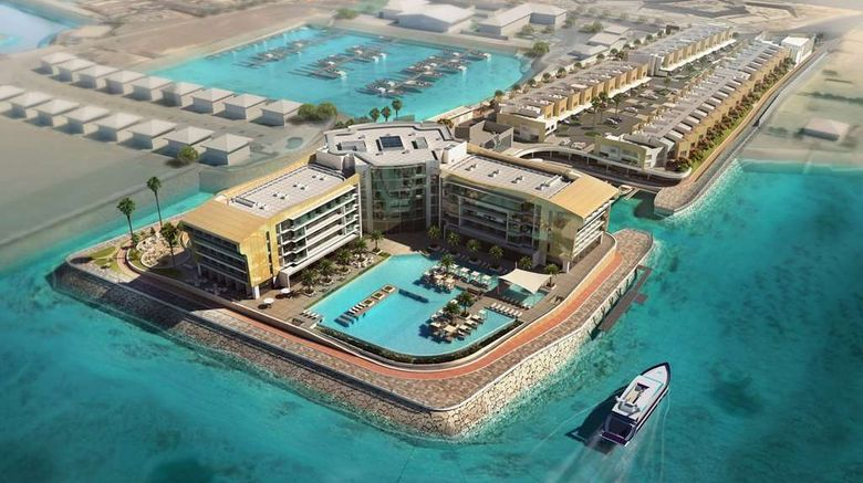 """Royal M Hotel  and  Resort Abu Dhabi Exterior. Images powered by <a href=""""http://web.iceportal.com"""" target=""""_blank"""" rel=""""noopener"""">Ice Portal</a>."""