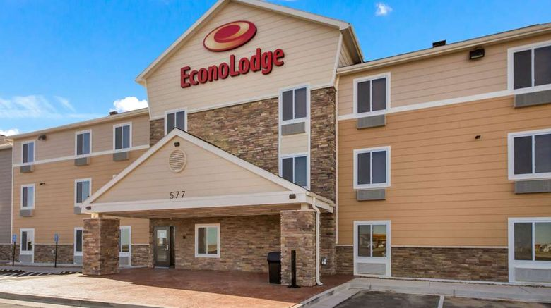 """Econo Lodge Burlington Exterior. Images powered by <a href=""""http://web.iceportal.com"""" target=""""_blank"""" rel=""""noopener"""">Ice Portal</a>."""