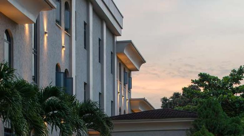 """Radisson Hotel, Lagos Ikeja Exterior. Images powered by <a href=""""http://web.iceportal.com"""" target=""""_blank"""" rel=""""noopener"""">Ice Portal</a>."""