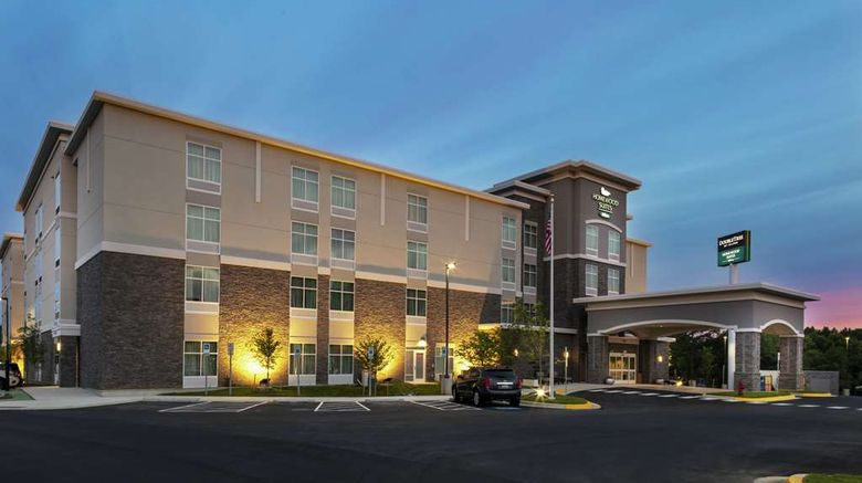 """Homewood Suites Largo/Washington DC Exterior. Images powered by <a href=""""http://web.iceportal.com"""" target=""""_blank"""" rel=""""noopener"""">Ice Portal</a>."""