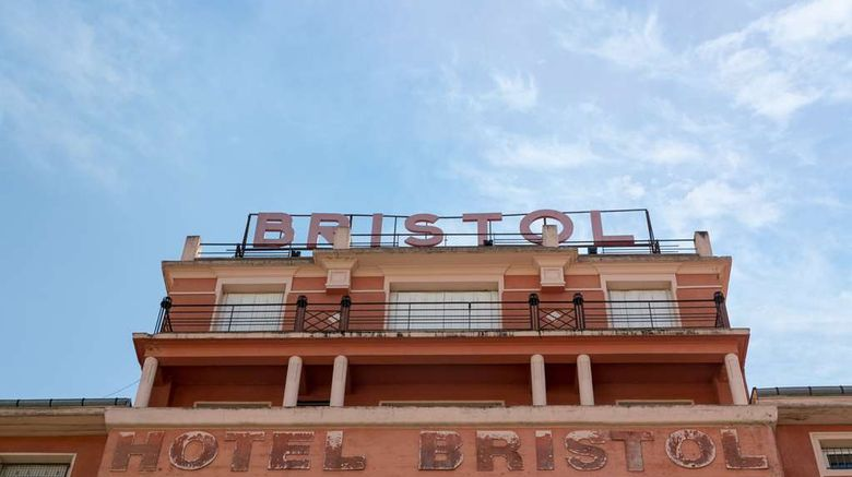 """Inter Hotel Bristol Exterior. Images powered by <a href=""""http://web.iceportal.com"""" target=""""_blank"""" rel=""""noopener"""">Ice Portal</a>."""