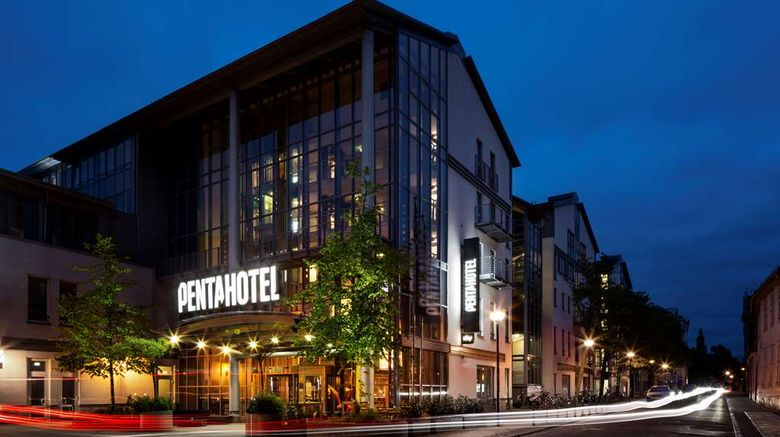 "pentahotel Rostock Exterior. Images powered by <a href=""http://web.iceportal.com"" target=""_blank"" rel=""noopener"">Ice Portal</a>."