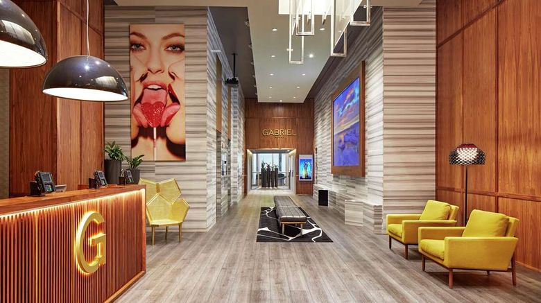 """The Gabriel Miami, Curio Coll by Hilton Lobby. Images powered by <a href=""""http://web.iceportal.com"""" target=""""_blank"""" rel=""""noopener"""">Ice Portal</a>."""