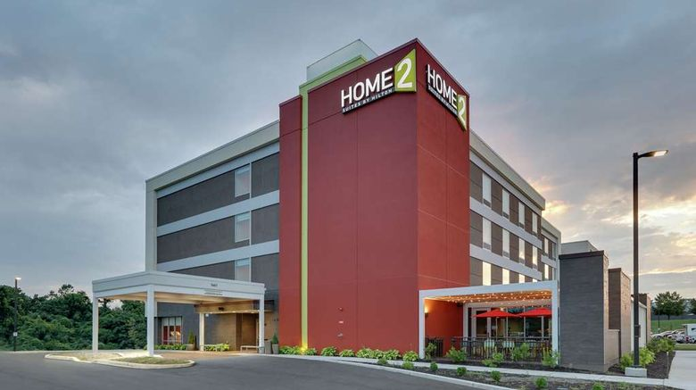 """Home2 Suites by Hilton Hagerstown Exterior. Images powered by <a href=""""http://web.iceportal.com"""" target=""""_blank"""" rel=""""noopener"""">Ice Portal</a>."""