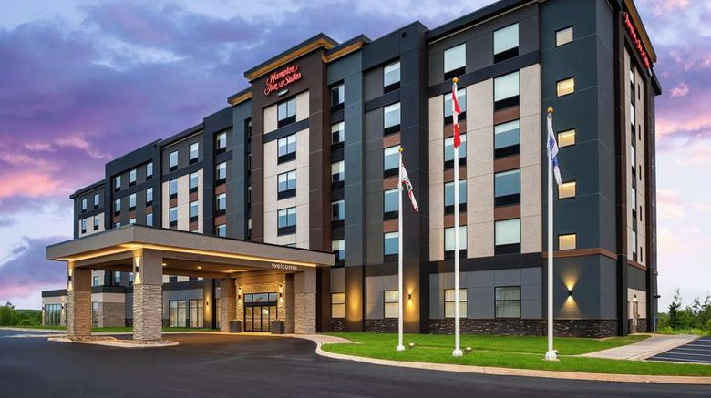 """Hampton Inn  and  Suites Charlottetown Exterior. Images powered by <a href=""""http://web.iceportal.com"""" target=""""_blank"""" rel=""""noopener"""">Ice Portal</a>."""