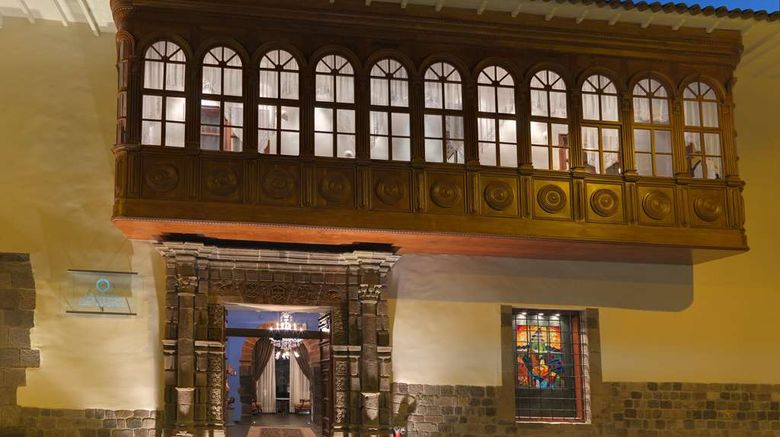 """Aranwa Cusco Boutique Hotel Exterior. Images powered by <a href=""""http://web.iceportal.com"""" target=""""_blank"""" rel=""""noopener"""">Ice Portal</a>."""