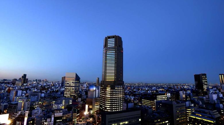 """Cerulean Tower Tokyu Hotel Exterior. Images powered by <a href=""""http://web.iceportal.com"""" target=""""_blank"""" rel=""""noopener"""">Ice Portal</a>."""