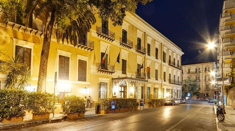 """Excelsior Palace Palermo Exterior. Images powered by <a href=""""http://web.iceportal.com"""" target=""""_blank"""" rel=""""noopener"""">Ice Portal</a>."""