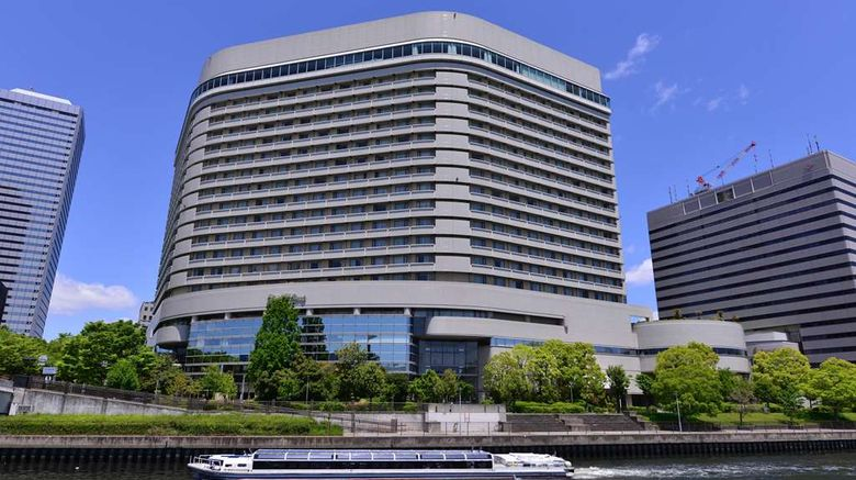 """Hotel New Otani Osaka Exterior. Images powered by <a href=""""http://web.iceportal.com"""" target=""""_blank"""" rel=""""noopener"""">Ice Portal</a>."""