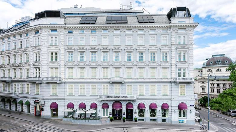 """Hotel Sans Souci Wien Exterior. Images powered by <a href=""""http://web.iceportal.com"""" target=""""_blank"""" rel=""""noopener"""">Ice Portal</a>."""