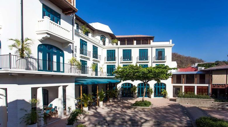 """Santarena Hotel Exterior. Images powered by <a href=""""http://web.iceportal.com"""" target=""""_blank"""" rel=""""noopener"""">Ice Portal</a>."""