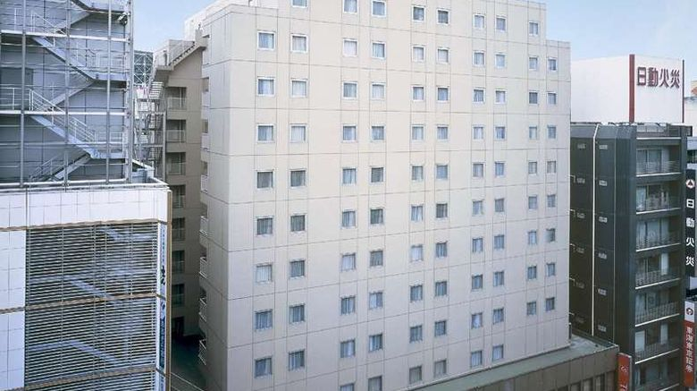 """Tokyu REI Hotel Shibuya Exterior. Images powered by <a href=""""http://web.iceportal.com"""" target=""""_blank"""" rel=""""noopener"""">Ice Portal</a>."""
