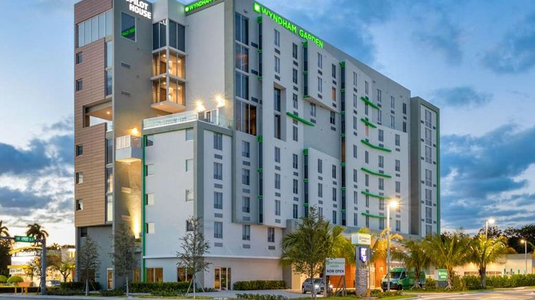 """Wyndham Garden Miami Intl Airport Exterior. Images powered by <a href=""""http://web.iceportal.com"""" target=""""_blank"""" rel=""""noopener"""">Ice Portal</a>."""