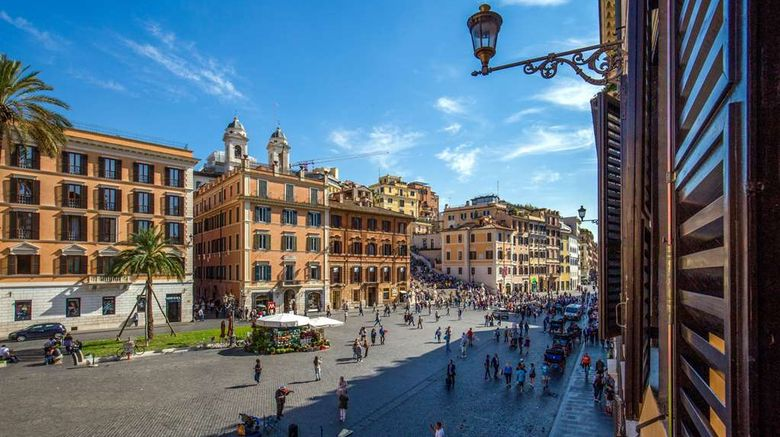 """Inn at the Spanish Steps Exterior. Images powered by <a href=""""http://web.iceportal.com"""" target=""""_blank"""" rel=""""noopener"""">Ice Portal</a>."""