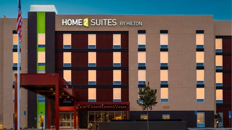 "Home2 Suites Bakersfield Exterior. Images powered by <a href=""http://web.iceportal.com"" target=""_blank"" rel=""noopener"">Ice Portal</a>."