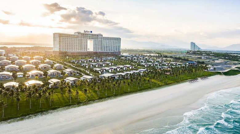 """Radisson Blu Resort Cam Ranh Exterior. Images powered by <a href=""""http://web.iceportal.com"""" target=""""_blank"""" rel=""""noopener"""">Ice Portal</a>."""