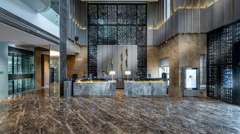 """DoubleTree by Hilton Putrajaya Lakeside Lobby. Images powered by <a href=""""http://web.iceportal.com"""" target=""""_blank"""" rel=""""noopener"""">Ice Portal</a>."""
