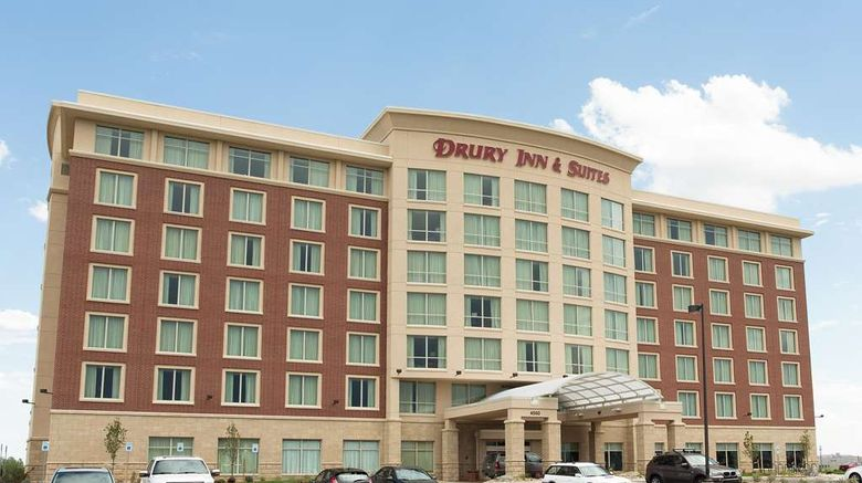 """Drury Inn  and  Suites Denver Stapleton Exterior. Images powered by <a href=""""http://web.iceportal.com"""" target=""""_blank"""" rel=""""noopener"""">Ice Portal</a>."""