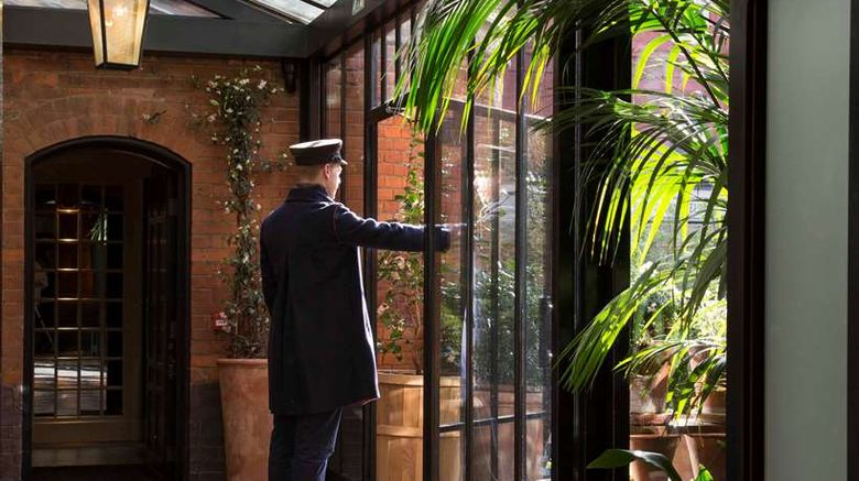"""Chiltern Street Firehouse Hotel Exterior. Images powered by <a href=""""http://web.iceportal.com"""" target=""""_blank"""" rel=""""noopener"""">Ice Portal</a>."""