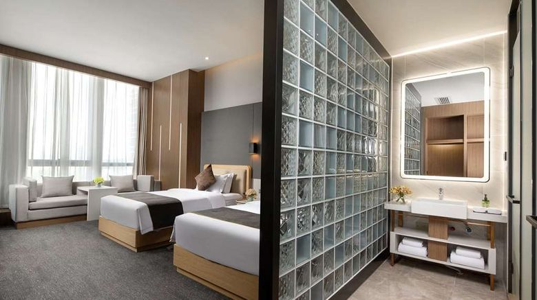 """Wyndham Garden Guiyang Room. Images powered by <a href=""""http://web.iceportal.com"""" target=""""_blank"""" rel=""""noopener"""">Ice Portal</a>."""