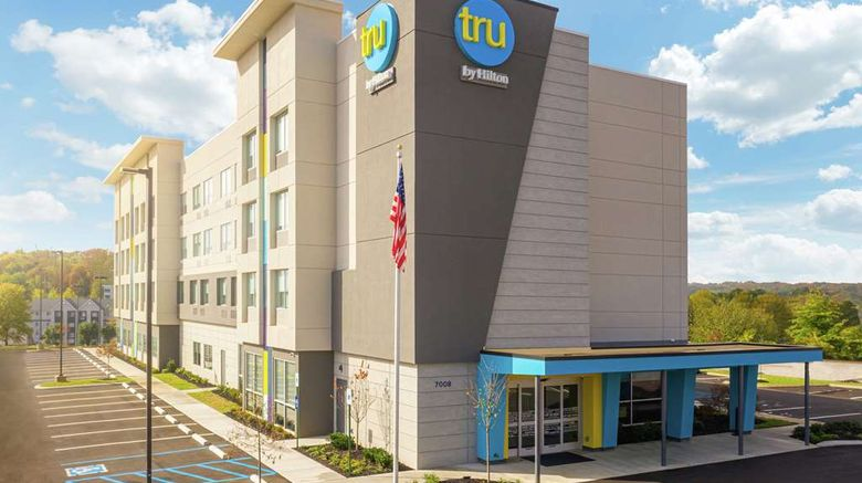 """Tru by Hilton Chattanooga Hamilton Place Exterior. Images powered by <a href=""""http://web.iceportal.com"""" target=""""_blank"""" rel=""""noopener"""">Ice Portal</a>."""