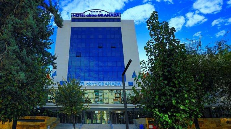 """Abba Granada Hotel Exterior. Images powered by <a href=""""http://web.iceportal.com"""" target=""""_blank"""" rel=""""noopener"""">Ice Portal</a>."""