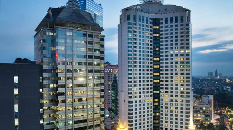 """Ayana Midplaza Jakarta Exterior. Images powered by <a href=""""http://web.iceportal.com"""" target=""""_blank"""" rel=""""noopener"""">Ice Portal</a>."""