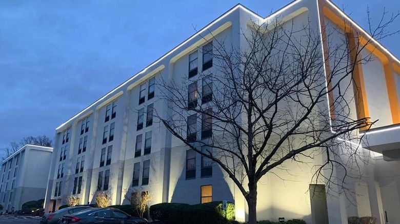 """Wingate by Wyndham Baltimore BWI Airport Exterior. Images powered by <a href=""""http://web.iceportal.com"""" target=""""_blank"""" rel=""""noopener"""">Ice Portal</a>."""
