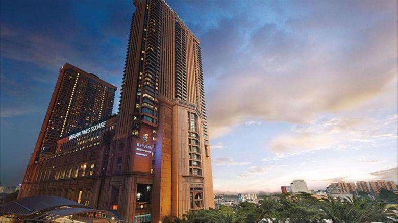 """Berjaya Times Square Hotel, Kuala Lumpur Exterior. Images powered by <a href=""""http://web.iceportal.com"""" target=""""_blank"""" rel=""""noopener"""">Ice Portal</a>."""