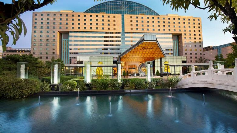 """Kempinski Hotel Beijing Lufthansa Center Exterior. Images powered by <a href=""""http://web.iceportal.com"""" target=""""_blank"""" rel=""""noopener"""">Ice Portal</a>."""