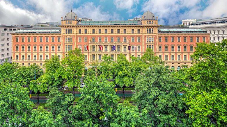 "Palais Hansen Kempinski Wien Exterior. Images powered by <a href=""http://web.iceportal.com"" target=""_blank"" rel=""noopener"">Ice Portal</a>."