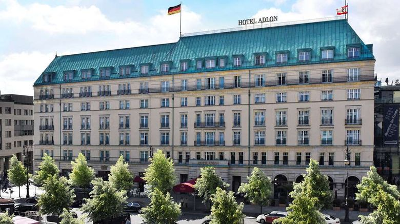"""Hotel Adlon Kempinski Berlin Exterior. Images powered by <a href=""""http://web.iceportal.com"""" target=""""_blank"""" rel=""""noopener"""">Ice Portal</a>."""