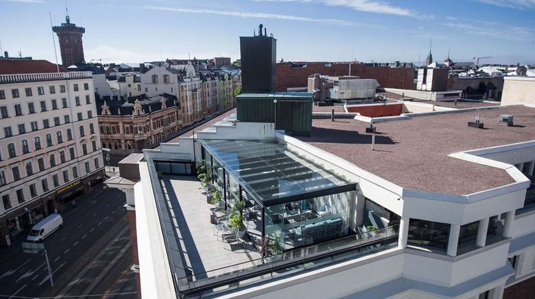 """Klaus K Helsinki Exterior. Images powered by <a href=""""http://web.iceportal.com"""" target=""""_blank"""" rel=""""noopener"""">Ice Portal</a>."""