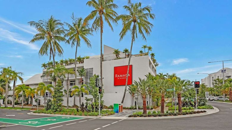 """Ramada By Wyndham Cairns City Centre Exterior. Images powered by <a href=""""http://web.iceportal.com"""" target=""""_blank"""" rel=""""noopener"""">Ice Portal</a>."""