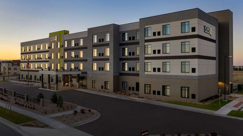 """Home2 Suites by Hilton Denver Northfield Exterior. Images powered by <a href=""""http://web.iceportal.com"""" target=""""_blank"""" rel=""""noopener"""">Ice Portal</a>."""