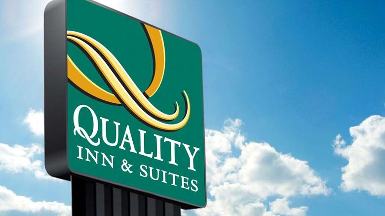 """Quality Inn  and  Suites Exterior. Images powered by <a href=""""http://web.iceportal.com"""" target=""""_blank"""" rel=""""noopener"""">Ice Portal</a>."""