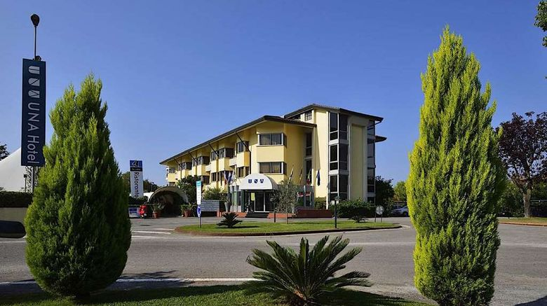 """Una Hotel Forte Dei Marmi Exterior. Images powered by <a href=""""http://web.iceportal.com"""" target=""""_blank"""" rel=""""noopener"""">Ice Portal</a>."""