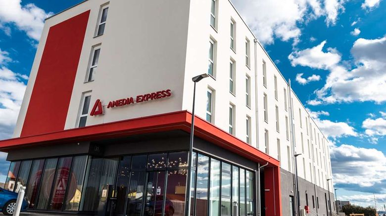 """Amedia Airport Hotel Graz Exterior. Images powered by <a href=""""http://web.iceportal.com"""" target=""""_blank"""" rel=""""noopener"""">Ice Portal</a>."""