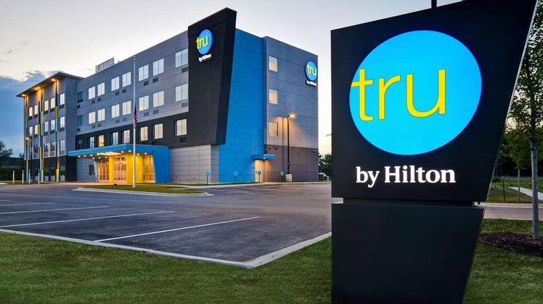 """Tru by Hilton Auburn Exterior. Images powered by <a href=""""http://web.iceportal.com"""" target=""""_blank"""" rel=""""noopener"""">Ice Portal</a>."""