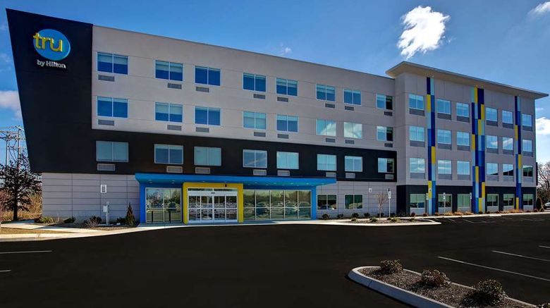 """Tru by Hilton Alcoa Knoxville Airport Exterior. Images powered by <a href=""""http://web.iceportal.com"""" target=""""_blank"""" rel=""""noopener"""">Ice Portal</a>."""