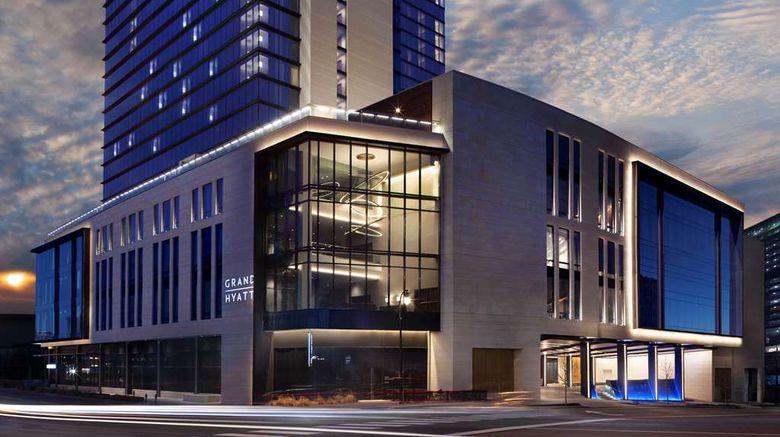"Grand Hyatt Nashville Exterior. Images powered by <a href=""http://web.iceportal.com"" target=""_blank"" rel=""noopener"">Ice Portal</a>."