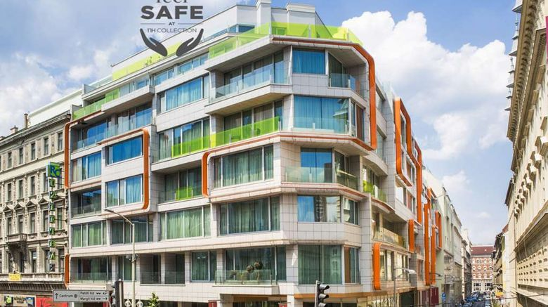"""NH Collection Budapest City Center Exterior. Images powered by <a href=""""http://web.iceportal.com"""" target=""""_blank"""" rel=""""noopener"""">Ice Portal</a>."""