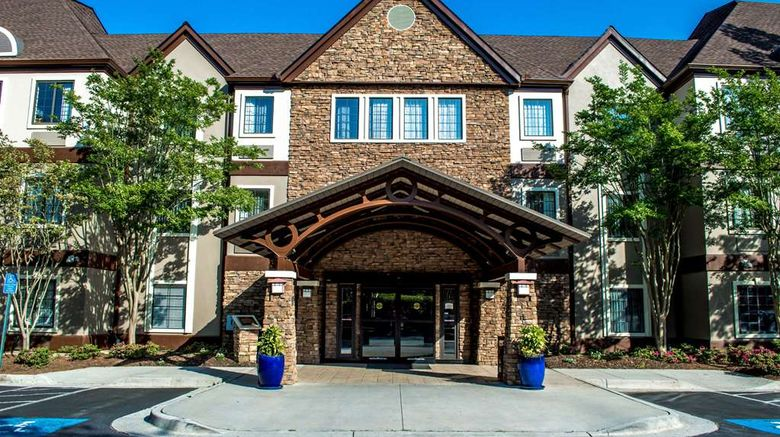 """Sonesta Es Suites North Point Exterior. Images powered by <a href=""""http://web.iceportal.com"""" target=""""_blank"""" rel=""""noopener"""">Ice Portal</a>."""