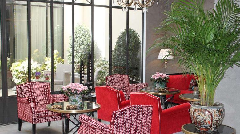 """Hotel My Home in Paris Lobby. Images powered by <a href=""""http://web.iceportal.com"""" target=""""_blank"""" rel=""""noopener"""">Ice Portal</a>."""