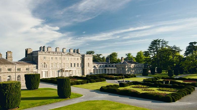"""Carton House A Fairmont Hotel Exterior. Images powered by <a href=""""http://web.iceportal.com"""" target=""""_blank"""" rel=""""noopener"""">Ice Portal</a>."""