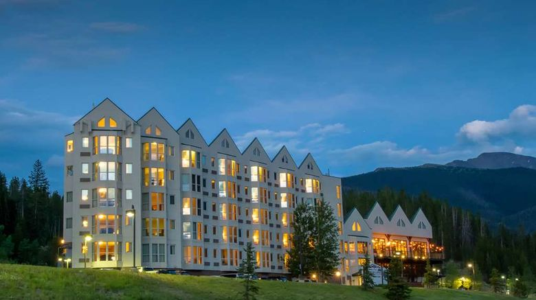 """Winter Park Mountain Lodge Exterior. Images powered by <a href=""""http://web.iceportal.com"""" target=""""_blank"""" rel=""""noopener"""">Ice Portal</a>."""