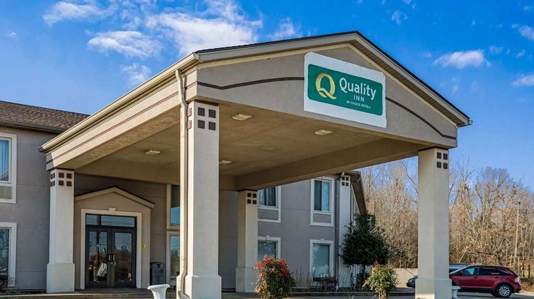 """Quality Inn Calvert City/Ky Lake Area Exterior. Images powered by <a href=""""http://web.iceportal.com"""" target=""""_blank"""" rel=""""noopener"""">Ice Portal</a>."""